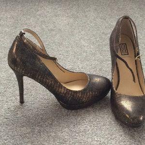 Shoe Dazzle Stilettos with Ankle Strap